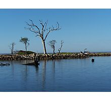 Blue on Blue - Metung, Victoria Photographic Print