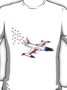 little red white and blue starfire T-Shirt
