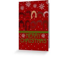 Pawnee Christmas Sweater Greeting Card