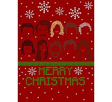 Pawnee Christmas Sweater Photographic Print