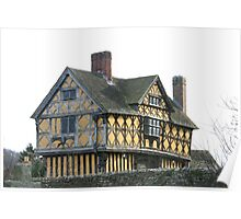 The Gate House at Stokesay Poster