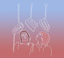 Tegan and Sara tribute by Bollenbach