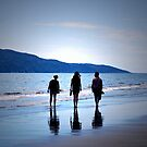 Raumati Beach  by Christine  Wilson Photography