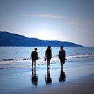 Raumati Beach  by Christine  Wilson Photography