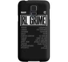 TRAP poster Samsung Galaxy Case/Skin