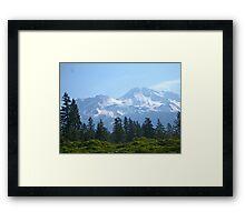 Mt Shasta Memories Framed Print