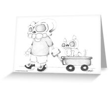 Little (Red) Wagon Greeting Card