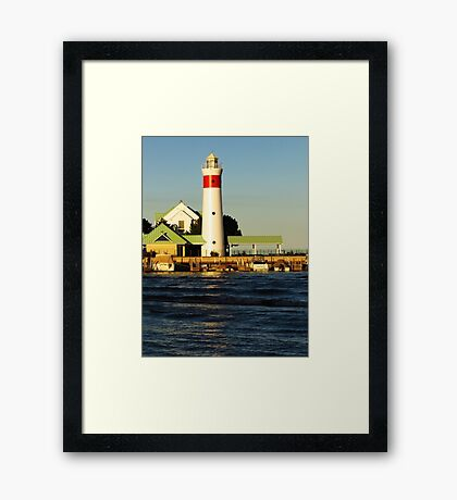 Ohio - Point Retreat Lighthouse 2 Framed Print