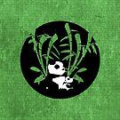 Panda Badge by jlechuga