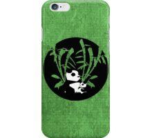 Panda Badge iPhone Case/Skin