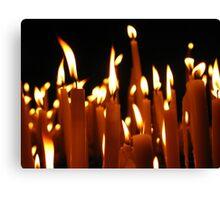 Candles © Canvas Print