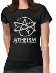 Atheism - A Non Prophet organization Womens Fitted T-Shirt
