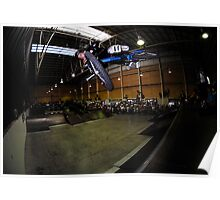 Mike Spinner - Pro USA BMX Rider Poster