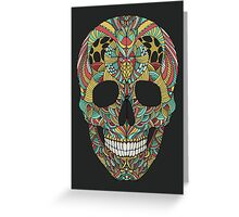 Ethno skull Greeting Card