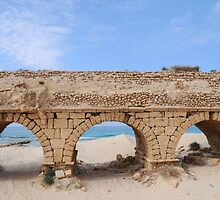 Remains of the Roman Aqueduct  by PhotoStock-Isra