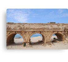 Remains of the Roman Aqueduct  Canvas Print