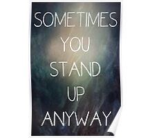 Sometimes.... Poster