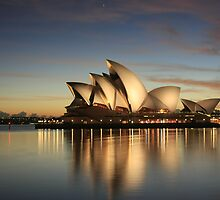 Utzon's Dawn by Cameron O'Neill