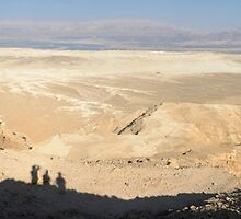 Desert landscape overlooking the Dead Sea by PhotoStock-Isra