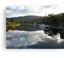 Caledonian Canal near Loch Ness Canvas Print
