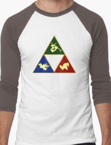 Hoenn's Legendary Triforce Men's Baseball ¾ T-Shirt