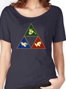 Hoenn's Legendary Triforce Women's Relaxed Fit T-Shirt