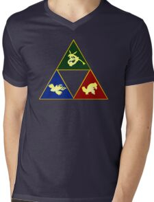 Hoenn's Legendary Triforce Mens V-Neck T-Shirt