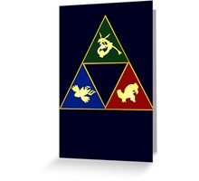 Hoenn's Legendary Triforce Greeting Card