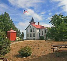 Grand Traverse Lighthouse by Jack Ryan
