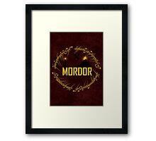 Mordor Framed Print