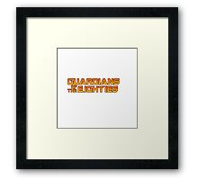 Guardians of the Eighties Framed Print