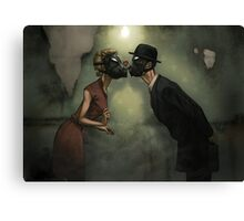 Punk Love Canvas Print