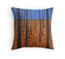 A Forest Dreamscape Throw Pillow