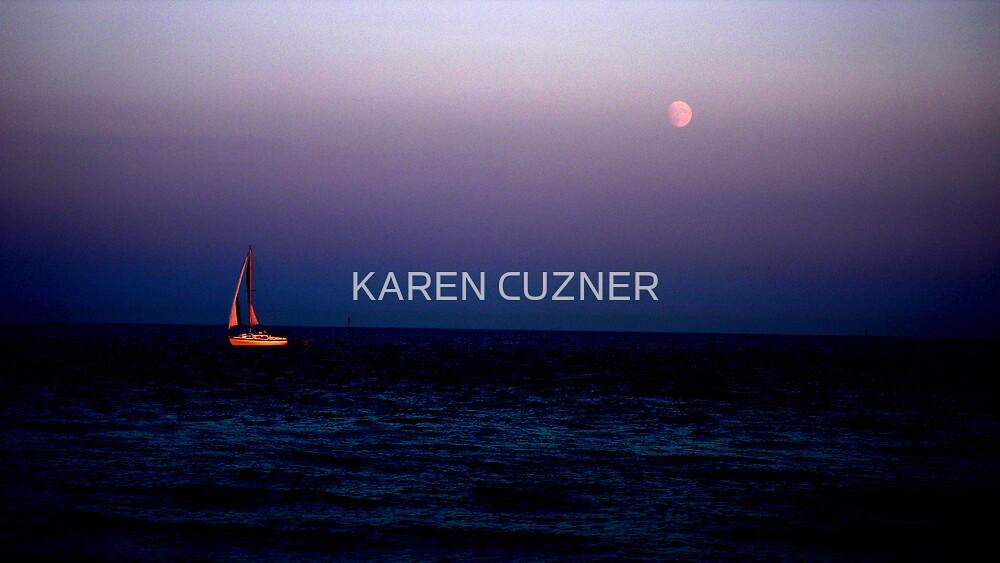 Dusk by KAREN CUZNER