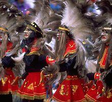 Carnival in Bolivia by Phillip  McCordall