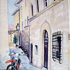 Cycling Tuscany by Carolyn Bishop