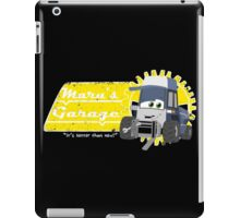 Maru's Garage iPad Case/Skin