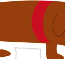 Badly Drawn Pups: Weenie Pup Sticker