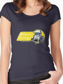 Maru's Garage Women's Fitted Scoop T-Shirt