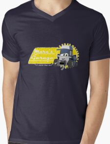 Maru's Garage Mens V-Neck T-Shirt