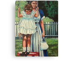 My Favorite Place #5, The Red Swing Canvas Print