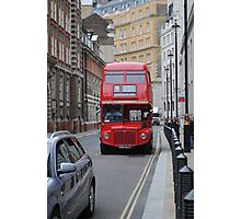 Red Bus Photographic Print