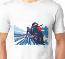 Motor racer speed demon Unisex T-Shirt