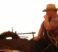 Farming at dusk by Rockmonkey