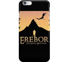 Erebor - The Lonely Mountain (The Hobbit) iPhone Case/Skin
