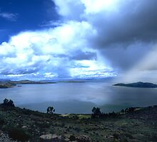 Lago Titicaca Bolivia by Phillip  McCordall
