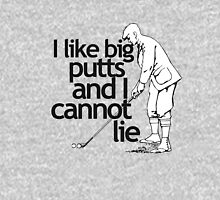I Like Big Putts Golfing Mens V-Neck T-Shirt