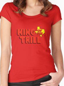 King of the Trill Women's Fitted Scoop T-Shirt