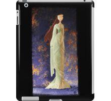 Fire Blossom Lady iPad Case/Skin