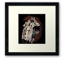 Keepers of the forest Framed Print